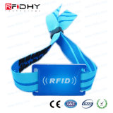 Braccialetto impresso del tessuto di RFID con il chip di MIFARE 4K