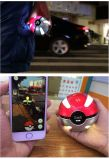 Крен Pokemon силы Pokeball шарика Pikachu волшебный идет портативный крен силы