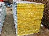 панель сандвича шерстей утеса 100mm толщиной изолированная пожаробезопасная Bao стальная
