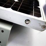 2018遠隔Cotrolの屋外の統合された調節可能な80Wオールインワン太陽LEDの庭の街灯