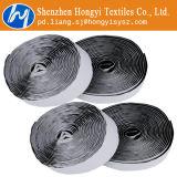 Gancho de leva y bucle autos-adhesivo de nylon de Black&White Velco