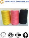 다른 색깔 폴리에스테에 의하여 회전되는 스레드에 있는 100%년 폴리에스테 꿰매는 스레드