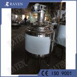 SUS304 gainé en acier inoxydable cuve sous pression du réservoir d'agitateur réacteur
