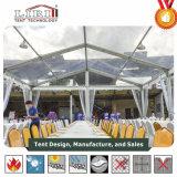 2000人のゲストのための屋外の拡張可能な透過PVC玄関ひさし党テント