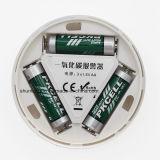 LCD Coセンサー作業組み込み85dBのサイレンの音だけの独立した一酸化炭素中毒警告アラーム探知器