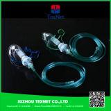 Masque d'oxygène hyperbare médical avec clip et tube à nez réglable
