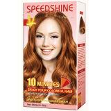 Do creme permanente da cor do cabelo de um Speedshine de 10 minutos cobre dourado