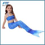 도매 고품질 아이들 인어 한 벌 수영복 수영복 수영 착용