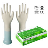 Aql1.5 Medical Grade Vinyl Handschuhe Powder Free, Einweg Vinyl Handschuh