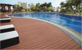 Houten Plastic Samengestelde Bevloering voor de Openlucht Bevloering van het Zwembad