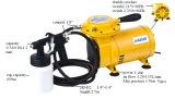 Como09ak-3 Kit Aerógrafo para principiantes sola acción Spray & Hobby compresor de aire del conjunto de la pintura de arte