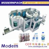 3 en 1 máquina de relleno de la producción del agua de manatial