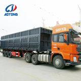 Vervoer 3 van het Zand van de zware Lading de Kipper van de As/de Semi Aanhangwagen van de Stortplaats