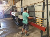 熱い販売の作中国の縦ガラスのひき、磨く機械