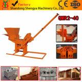 Qmr2-40 presse à main machine à briques de bloc