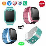 Los niños de la cámara de 3G WiFi/niño Tracker GPS Reloj con Multi-Languages