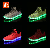Zapatos de luz LED de moda los deportes del ocio de baile para mujer de los hombres