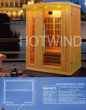 2017 Hotwind cicuta lejos sauna de infrarrojos para 3 Person-Bt3