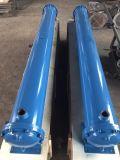 Shell y el tubo del intercambiador de calor se utiliza para el compresor de aire