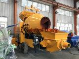 Reboque Tremonha 600L 30m3/hr a capacidade de bombeamento da bomba de mistura de concreto com elevadores ou de alimentação de gasóleo