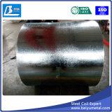 2mm Spangle ordinaire dans la bobine de tôle en acier galvanisé avec MTC