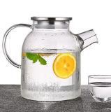 Het Drinken van de Theepot van het Water van het Glas van de Ketel van de Thee van het glas de Theepot van Pyrex van de Kruik