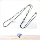 Neuer Entwurf für Form-Schmucksachen N6807 der Frau silberne der Halsketten-925
