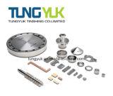 2017 pezzi meccanici di giro personalizzati di CNC usati sulla strumentazione del macchinario