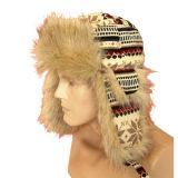 Мода зимы теплый мех Red Hat VT1202