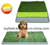 Neue Hundetoiletten-bewegliche Potty Tellersegment-Haustier-Plastiktoilette