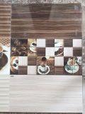 Azulejos de cerámica esmaltados de la pared de la inyección de tinta con enlucido cerámico