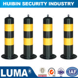 LEDライトの警告を用いる安全保護領域のステンレス鋼の固定ボラード