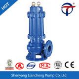 Elektrische Vertikale, die versenkbare Abwasser-Pumpe entwässert