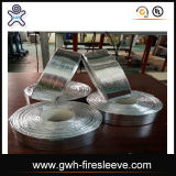 Luva aluminizada do incêndio da fibra de vidro