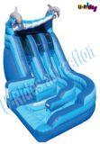 [كمّرسل غرد] قابل للنفخ ماء لعبة دولفين ماء منزلق منزلق قابل للنفخ لأنّ عمليّة بيع