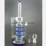 Waterpijp van het Glas van de Filter van de kleur de Cellulaire voor de Lage Prijs van het Kanon