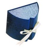 Contenitore di regalo di cuoio dell'imballaggio dell'anello della casella di memoria dei monili del velluto (YS108)