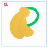 Banana 100% del bambino del giocattolo del silicone del commestibile Teether come regalo