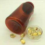 250ml de hoge Ronde Amber Aangepaste Lege Duidelijke Flessen van de Pil van het Huisdier Plastic voor de Capsules van de Vistraan met Schroefdop