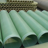 Tubo di acqua delle acque luride della conduttura GRP delle acque luride di fabbricazione della carta di GRP FRP