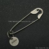 의복 부속품 바가지 모양 Pin 안전 버클 꼬리표 구리 브로치