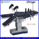 Bed/de Lijst van de Zaal van de Verrichting van Radiolucent van de Apparatuur van China het Chirurgische Elektrische