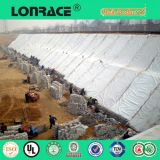 Slope Protection를 위한 짠것이 아닌 Geotextile