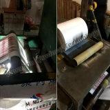 Bordo verticale Gusseting/macchina di inserimento per la fabbricazione tessuta del sacchetto
