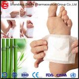 발 패치의 제조자 또는 초본 대나무 Detox 발 패드 또는 Detox는 발 패드를 이완한다