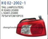 Авто детали заднего фонаря подходит для KIA Optima 2005. Для изготовителей оборудования:000/92402 92401-2g-2g000/92406000/92405-2G-2G000