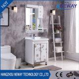 Pavimento che si leva in piedi il singolo Governo di stanza da bagno di ceramica della mobilia del dispersore del PVC