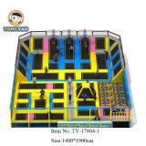 بناية أولمبيّ معياريّة [ترمبولين] داخليّ مع زبد حفرة, [دودج بلّ], سلة كرة