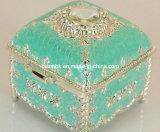 OEM Fancy Pink caja de joyería / Caja de lujo de anillo de concha / caja de collar