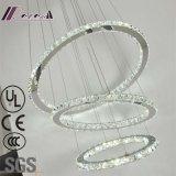 Il lusso decorativo K9 dell'hotel rimuove la lampada Pendant rotonda di cristallo
